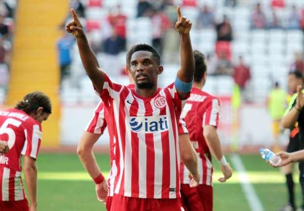 Antalyaspor : Samuel Eto'o prépare son équipe , joue , marque  et gagne !